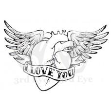 3rd Eye - I Love You Tattoo