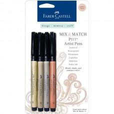 Faber-Castell - Mix & Match - PITT Artist Pens - Subtle Tones