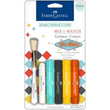 Faber-Castell - Mix & Match Gelatos - 50's Dinner