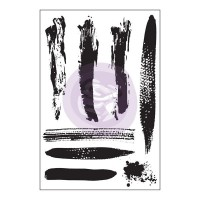 Prima - Cling Stamps - Brush Strokes