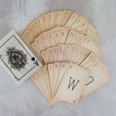 Prima - Vintage Alpha Card Set