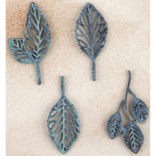 Prima - Patina Trinkets - Stroked Leaves