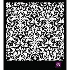 Prima - 6x6 Stencil - Flourish