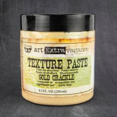 Prima - Art Extravagance - Texture Paste - Gold Crackle