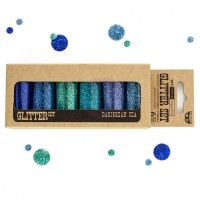 Prima - Art Ingredients - Glitter Set - Caribbean Sea