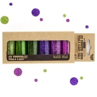 Prima - Art Ingredients - Glitter Set - Mardi Gras