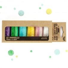 Prima - Art Ingredients - Glitter Set - Abloom