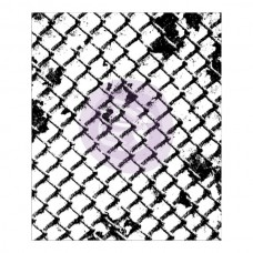 Prima - 2.5x3'' Clear Stamp - Wire Net