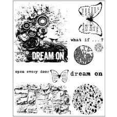 Prima - Cling Stamps - Dream On