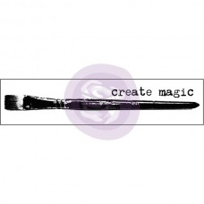 Prima - Mounted Stamp - Brush