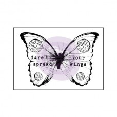 Prima - Mounted Stamp - Butterfly 2