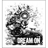 Prima - Mounted Stamp - Dream On