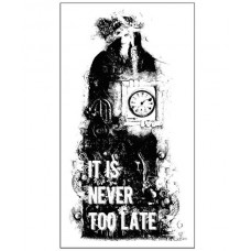 Prima - Mounted Stamp - It Is Never Too Late