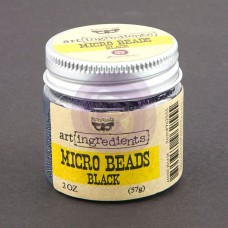 Prima - Art Ingredients - Micro Beads - Black