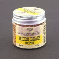 Prima - Art Ingredients - Micro Beads - Copper