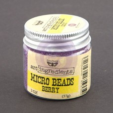 Prima - Art Ingredients - Micro Beads - Berry