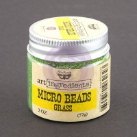 Prima - Art Ingredients - Micro Beads - Grass