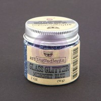 Prima - Art Ingredients - Glass Glitter - Midnight Blue