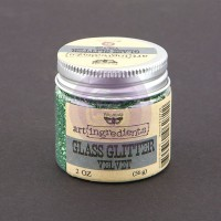 Prima - Art Ingredients - Glass Glitter - Velvet