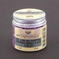 Prima - Art Ingredients - Glass Glitter - Violet