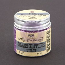 Prima - Art Ingredients - Glass Glitter - Violet