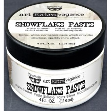 Prima - Art Extravagance - Texture Paste - Snowflake Paste