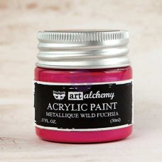 Prima - Art Alchemy - Metallique - Wild Fuchsia