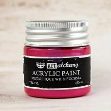 Prima - Art Alchemy - Metallique - Wild Fuchsia