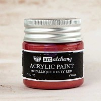 Prima - Art Alchemy - Metallique - Rusty Red