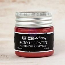 Prima - Art Alchemy - Metallique - Rusty Red