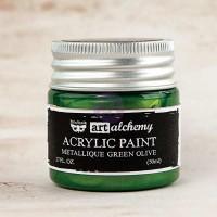 Prima - Art Alchemy - Metallique - Green Olive