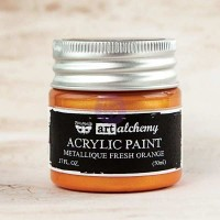Prima - Art Alchemy - Metallique - Fresh Orange