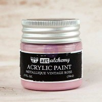 Prima - Art Alchemy - Metallique - Vintage Rose