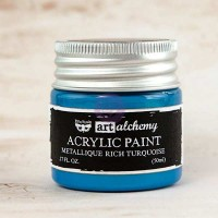 Prima - Art Alchemy - Metallique - Rich Turquoise