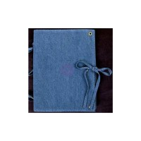 Prima - Vintage Vanity - Denim Journal by Finnabair