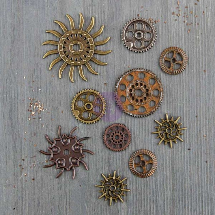prima mechanicals steampunk gears