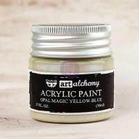 Prima - Art Alchemy - Opal Magic - Yellow-Blue