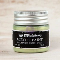 Prima - Art Alchemy - Opal Magic - Green-Gold