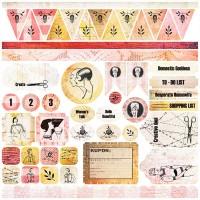 7 Dots Studio - Domestic Goddess - Stickers 12x12