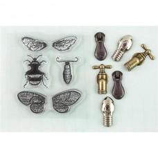 Prima - Stamp-N-Add - Moth Wings