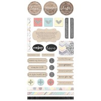 7 Dots Studio - Illumination - Element Stickers 6x12