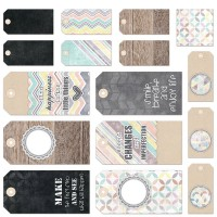 7 Dots Studio - Illumination - Die-cut Tags 12x12