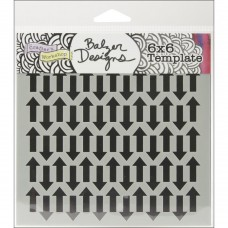 TCW - 6x6 Stencil - Chevron Arrows
