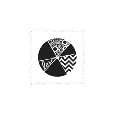TCW - 6x6 Stencil - Pie Chart