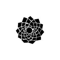 TCW - 6x6 Stencil - Trapezoid Flower