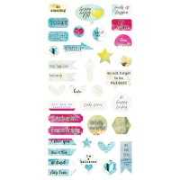 7 Dots Studio - Verano Azul - Die-cut Elements