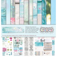 7 Dots Studio - Verano Azul - Collection Kit