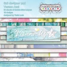 7 Dots Studio - Verano Azul - Designer Pad