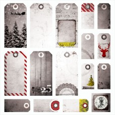 7 Dots Studio - Yuletide - Tags