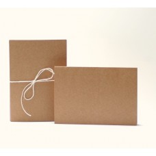 Card Base - Kraft - 5 pcs - A6 horizontal